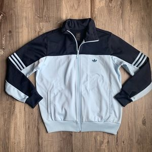 Adidas Originals Track Jacket Navy Blue Medium